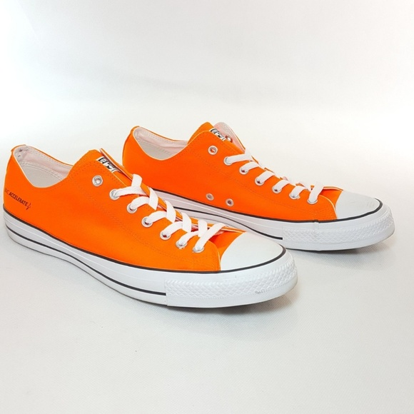 Converse Other - SOLD - Converse Men 14 Womens 16 Neon Orange